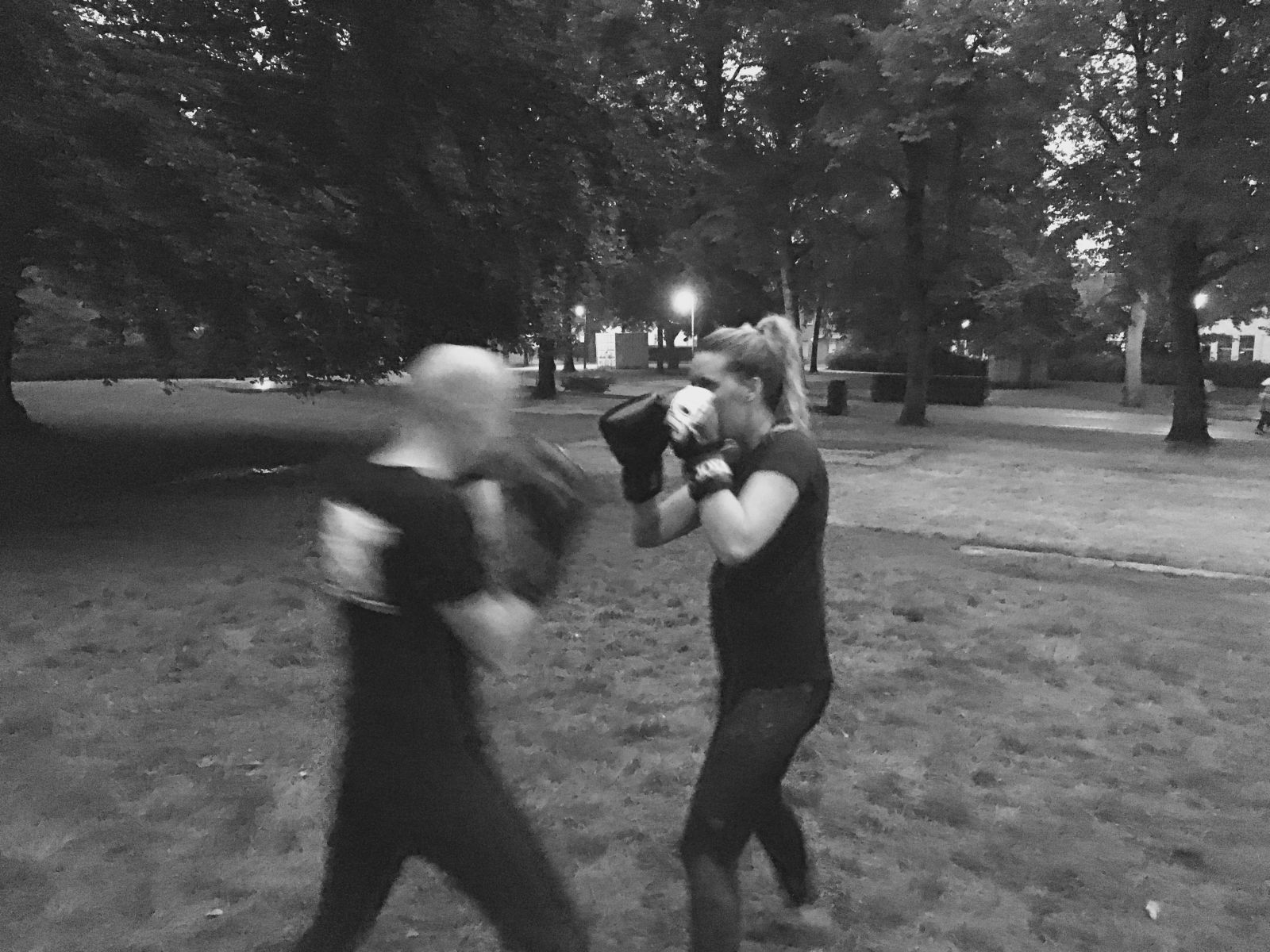 FEEL GOOD BOXING IN THE PARK IN STIJL AFGESLOTEN!